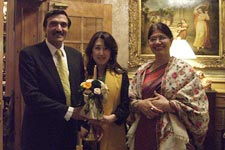 with  Mr, & Mrs .Prakash